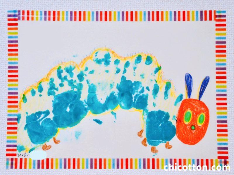 赤ちゃんの手形アート
