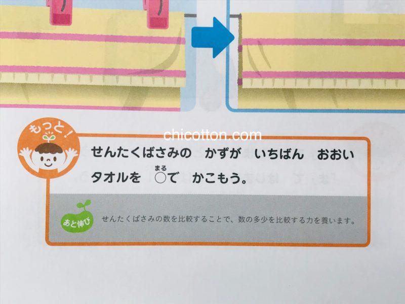 Z会幼児コース年少のお試しワーク
