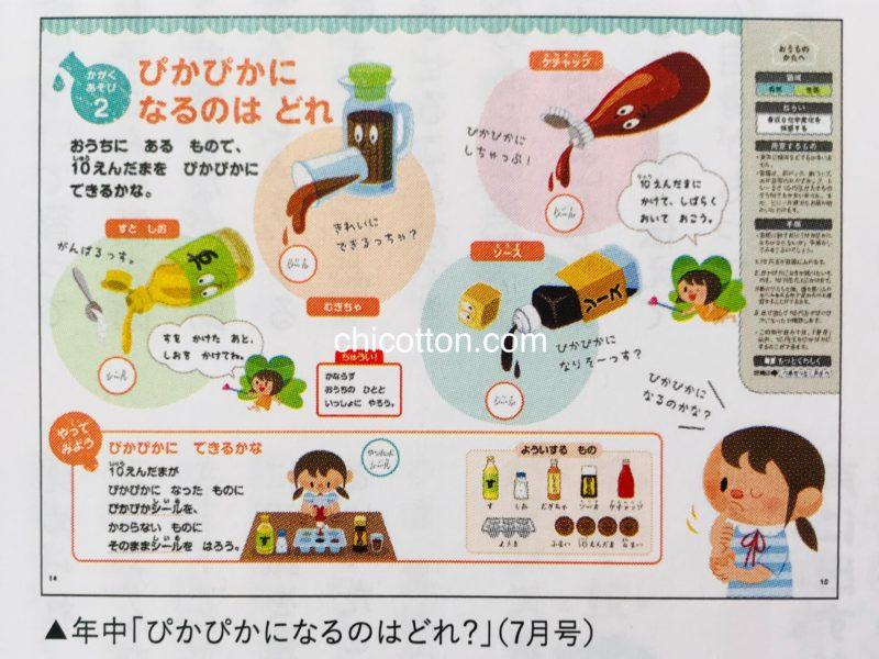 Z会幼児コースの教材例