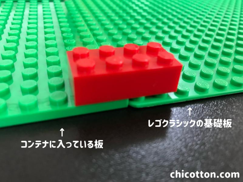 レゴの基礎板の違い