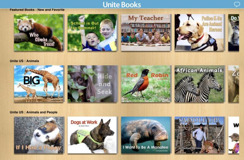 Unite Booksの絵本例