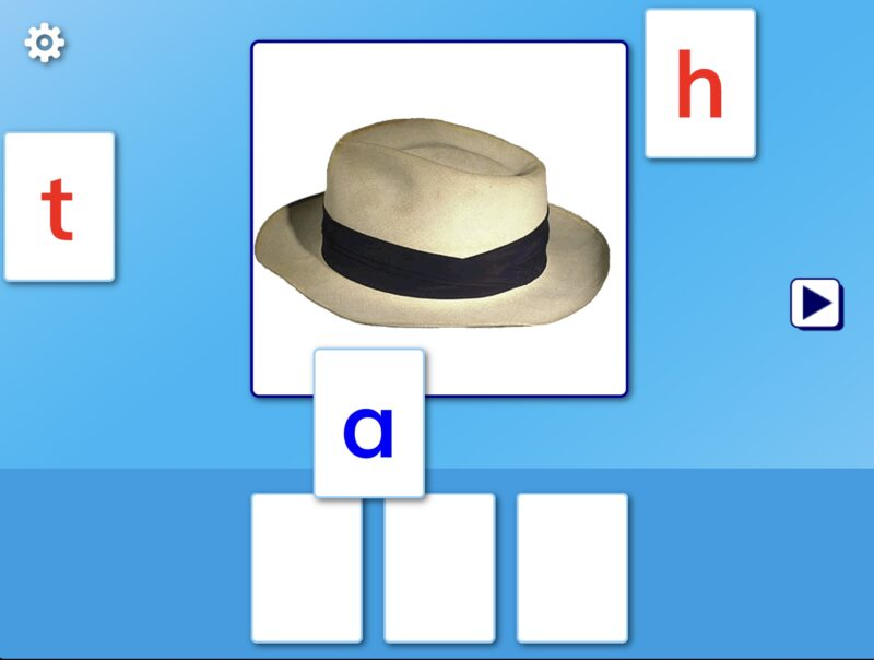 magic spelling1の画面